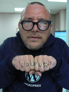 Jim Groom as Poster Boy for Edupunk