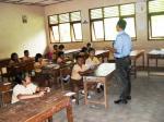 Penjelasan proyek, pembagian kelompok dan penyusunan jadwal kegiatan dengan bimbingan guru