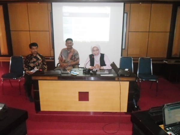Pembukaan Pelatihan Project Based Learning di P4TK Matematika