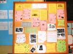 Majalah dinding hasil produksi siswa