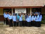 Foto bersama pendamping berbasis sekolah (Widyaiswara LPMP Yogyakarta) dan guru sekolah SDN Jetis II